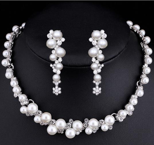 Svatební bižuterie z perel