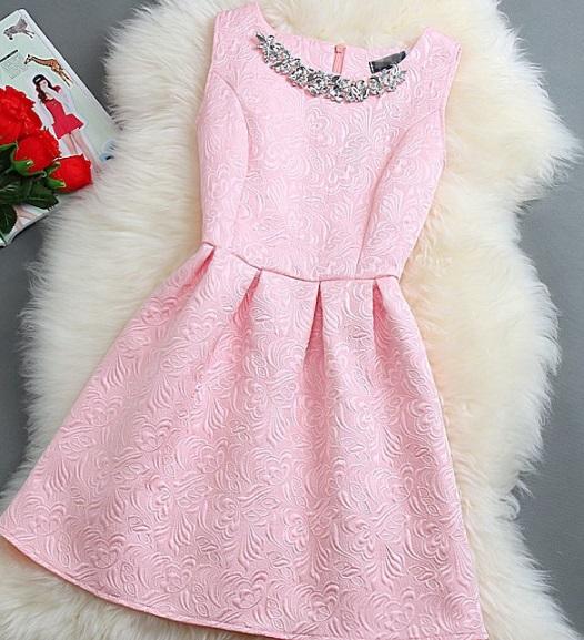 Společenské šaty ružové